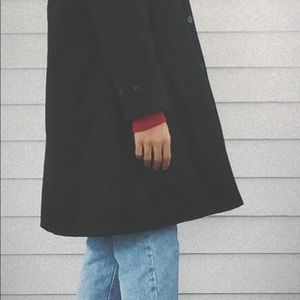 Unisex Black Coat